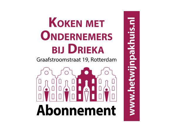 'Koken met Ondernemers' bij Drieka